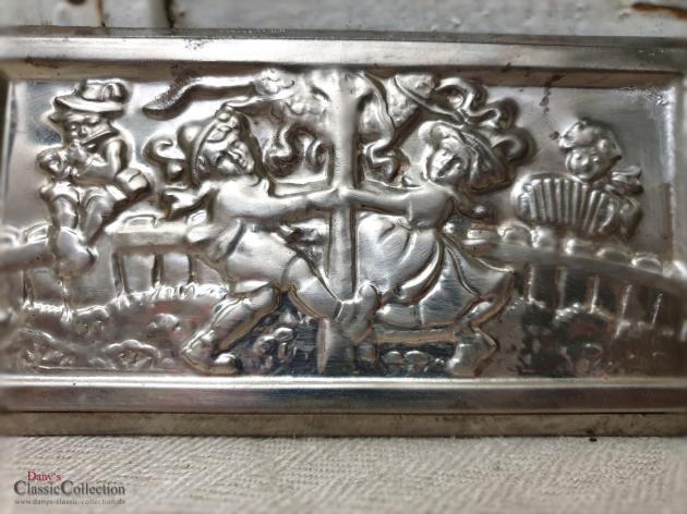 Schokoladentafel 17,5 x 9 cm ~ Tanz in den Mai ~ Anton Reiche 60012 ~ Made in Germany ~ Vintage Schokoladenform ~ Alte Flachform ~ hx4777
