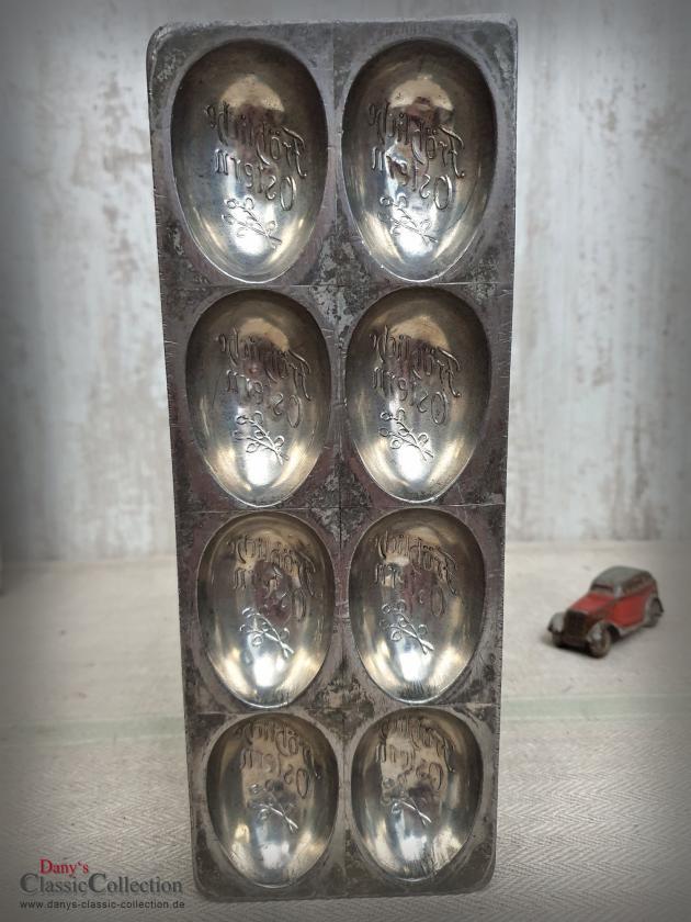 Sensationelle Schokoladenform ~ 8 Eier ~ Fröhliche Ostern ~ Vintage Homedecor ~ E.F. Teich Wien ~ Osterdekoration ~ Sammlerstück ~ hy6168