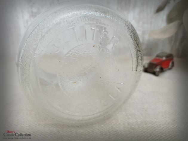 Weck 0,75 L Einmachglas ~ Windlicht ~ Vorratsglas ~ Rillenglas ~ Küchendeko ~ Tischdeko ~ Vase ~ Vintage ~ Landhaus ~ Bauernhaus ~ ht2675g3