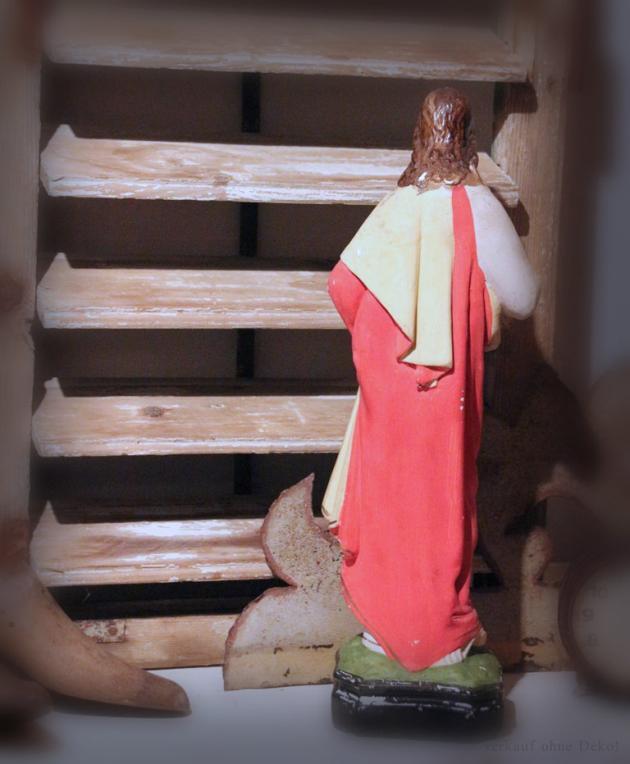 Heiligenfigur Jesus aus Gips