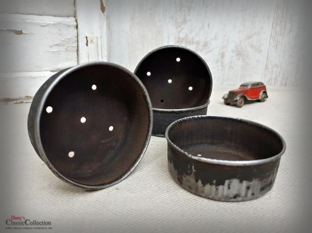 Uralte Zwieback Formen Ø 8,5 cm ~ Backformen ~ Aufbewahrung ~ Vintage Landhausküche ~ Shabby Küchendeko ~ Bauernhaus ~ hy6114