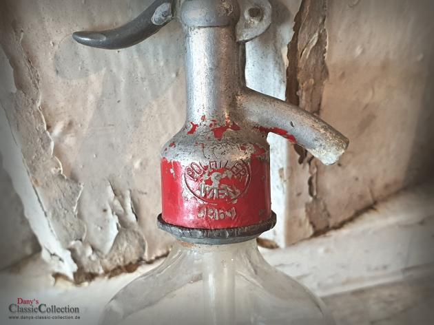 SELTENER 0,25L Soda Siphon ~ kleine Sodaflaschen ~ Seltzer Flasche ~ Industrial ~ Loft ~ Vintage Interior ~ hy5924f4