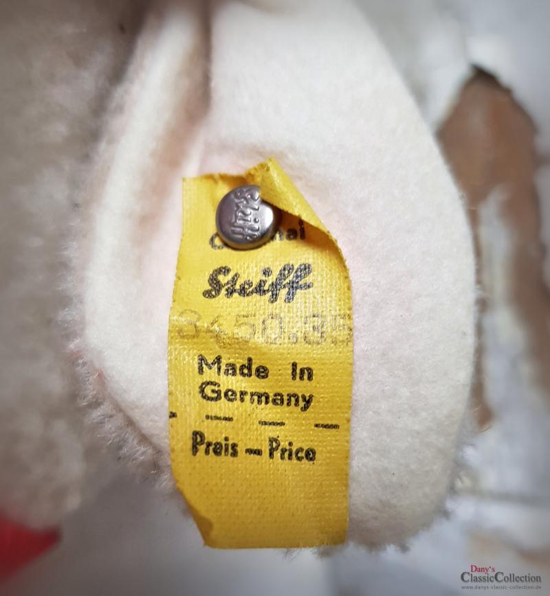 Vintage STEIFF Lamm ~ ORIGINAL Stofftier alt ~ Plüschtier ~ Nostalgie im Kinderzimmer ~ Osterdekoration ~ hx4013
