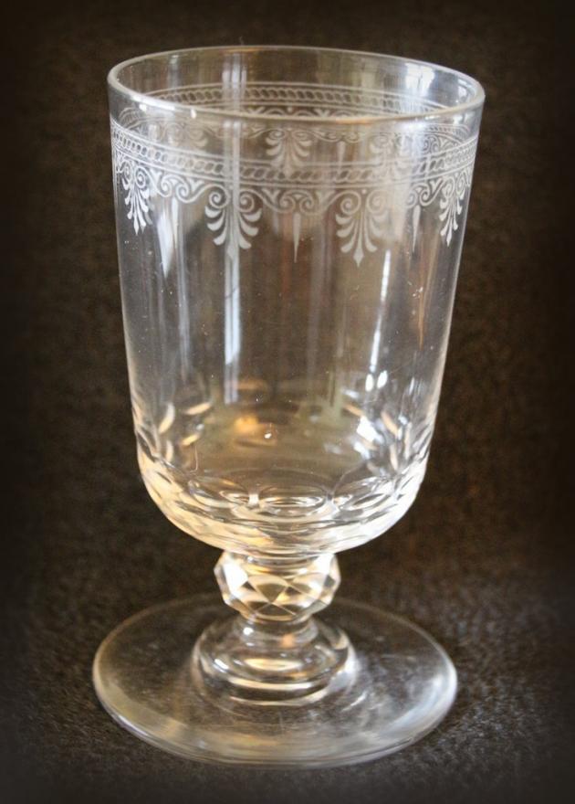 Biedermeier Glas