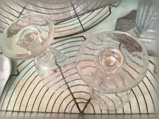 Weinglas mit Schliff