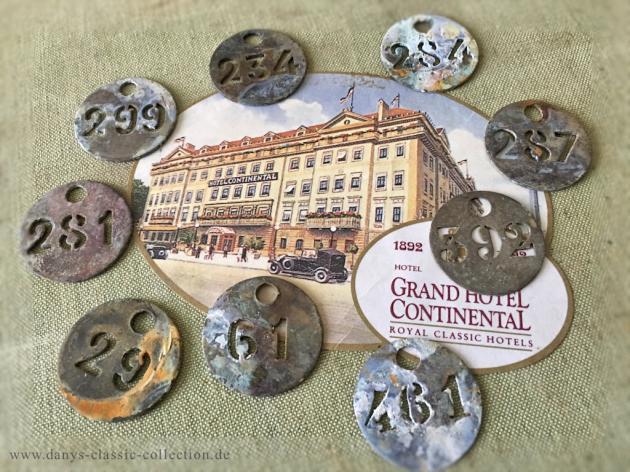 Französische Hotelzimmermarken
