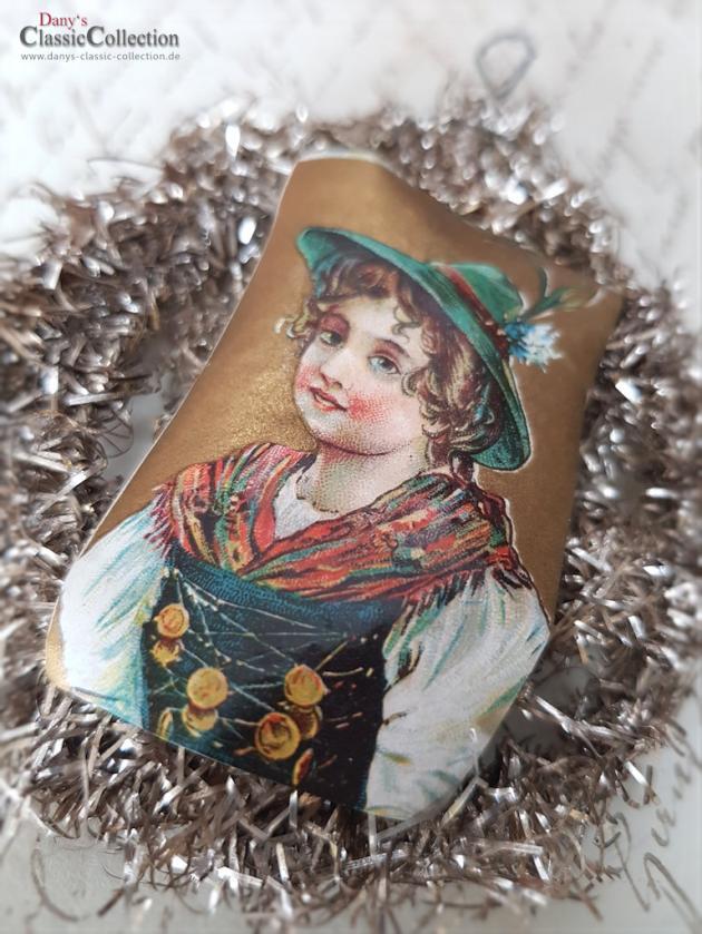 Schönes altes Tinselornament ~ Pretty xmas decoration