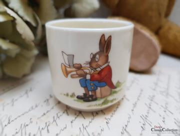 Royal Doulton Bunnykins ~ Fine Bone China Kinder Eierbecher mit Hasenmotiv