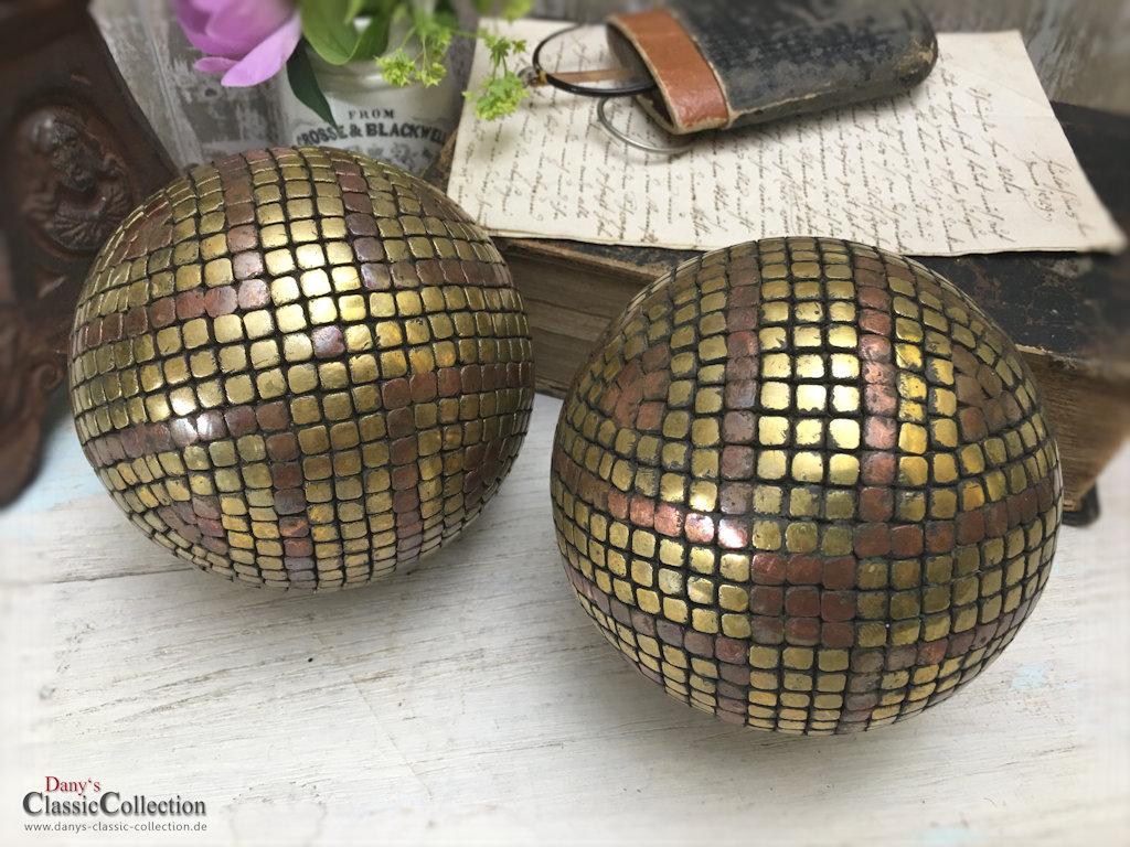 Boule P Tanque Kugel Gold Bronze