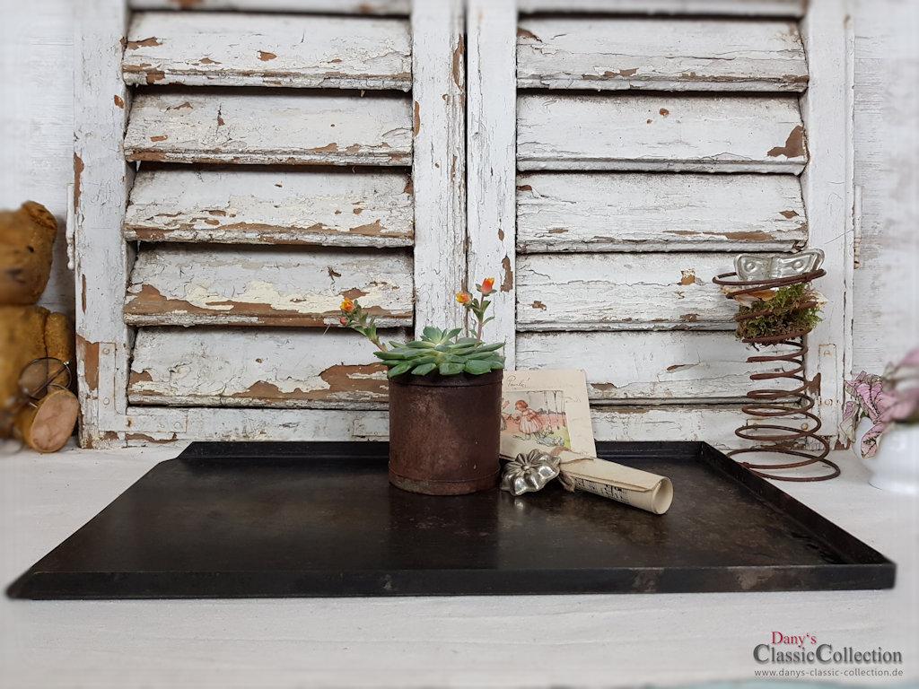 reserviert sch nes rechteckiges backblech edel shabby. Black Bedroom Furniture Sets. Home Design Ideas